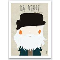 Little Da Vinci Art Print