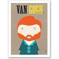 Little Van Gogh Art Print