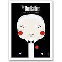 Little Godfather Art Print