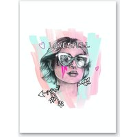 Love Art Print II