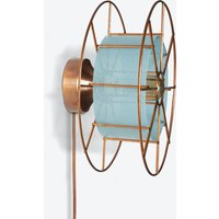 Spool Wall Light in Blue