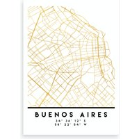 Buenos Aires City Street Map