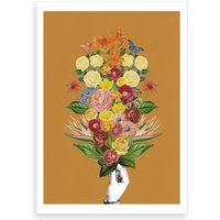 Botanical Yellow Art Print