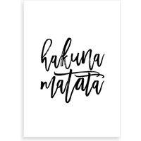 Hakuna Matata I Art Print