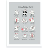 New Astrological Signs Art Print