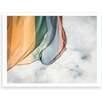 Rainbow Flag Art Print