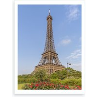 Idyllic Paris View Art Print