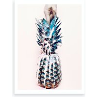 Juicy Pineapple Art Print