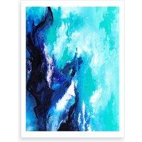 Ocean Bloom Art Print