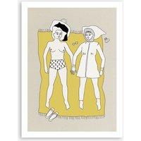 Beach Girls Poster A3 Poster