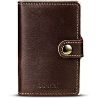 Secrid Miniwallets Dark Brown Original