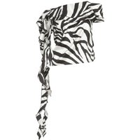 Animalier Printing TOP W-rouches