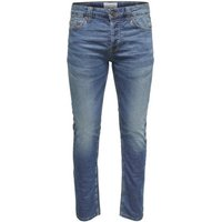 Only & Sons-Slim Fit Jeans onsLoom in blauw