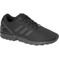 Adidas ZX Flux Triple Black Sneakers Black-Black-Black