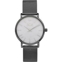 IKKI-Horloges-Watch Morris Gunmetal-Wit