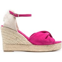 Espadrilles with Fabric Wedge