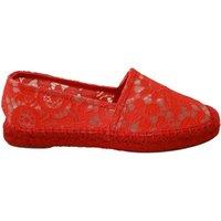 Lace Cotton Espadrilles Flats Shoes