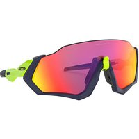 Oakley Flight Jacket Sunglasses Matte Navy-Prizm Road