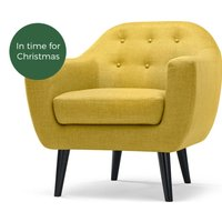 Ritchie Armchair, Ochre Yellow