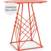 Product photograph showing Tega Garden Bistro Table Red