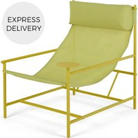 Product photograph showing Made Essentials Danta Garden Chair Chartreuse