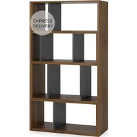 Kya Extending Shelves, Walnut and Grey