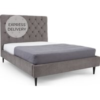 Skye Double Bed, Pewter