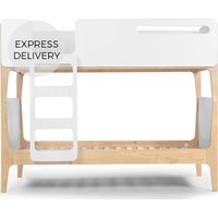 Product photograph showing Linus Bunk Bed Pine And White