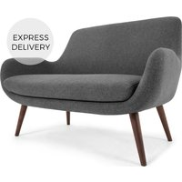 Moby 2 Seater Sofa, Marl Grey