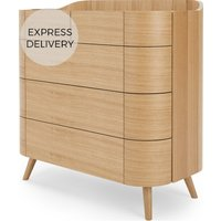 Ada 5 Drawer Chest of Drawers, Oak