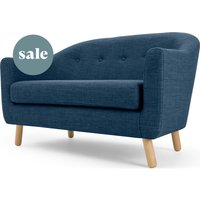 Lottie 2 Seater Sofa, Harbour Blue