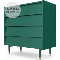Hetty Chest of Drawers, Racing Green