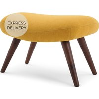 Moby Footstool, Yolk Yellow