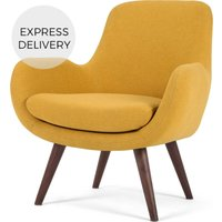 Moby Accent Armchair, Yolk Yellow