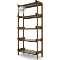Safia Shelving Unit, Walnut
