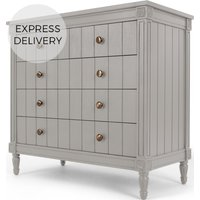 Bourbon Vintage Chest Of Drawers, Grey