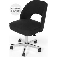 Product photograph showing Lloyd Office Chair Midnight Black