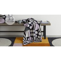 Product photograph showing Ringa Cotton Knit Throw 130 X 170cm Multi