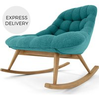 Kolton Rocking Chair, Mineral Blue
