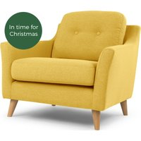 Rufus Armchair, Mustard Yellow