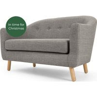 Lottie 2 Seater Sofa, Chalk Grey