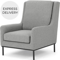 Adho Highback Wing Chair, Mountain Grey
