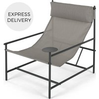 Product photograph showing Made Essentials Danta Garden Chair Grey