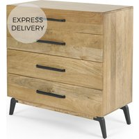 Lucien Chest of Drawers, Light Mango Wood