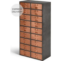 Stow Tall Storage Unit, Copper