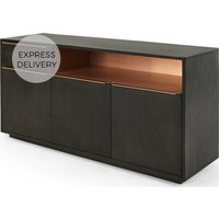 Anderson Sideboard, Mocha Mango Wood and Copper