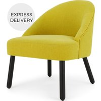 MADE Essentials Nial Accent Armchair, Chartreuse