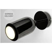 Product photograph showing Korey Led Wall Spot Light Black Nickel