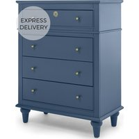 Fia Multi Chest of Drawers, Painted Royal Blue