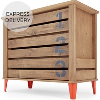 Aldgate Chest of Drawers, Red